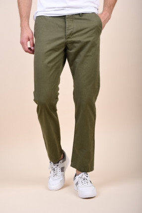 Pantaloni JACK&JONES Chris Akm789 Olive Night