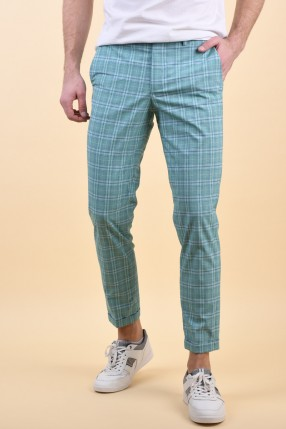 Pantaloni JACK&JONES Jacopo Sid Dark Fresh Mint