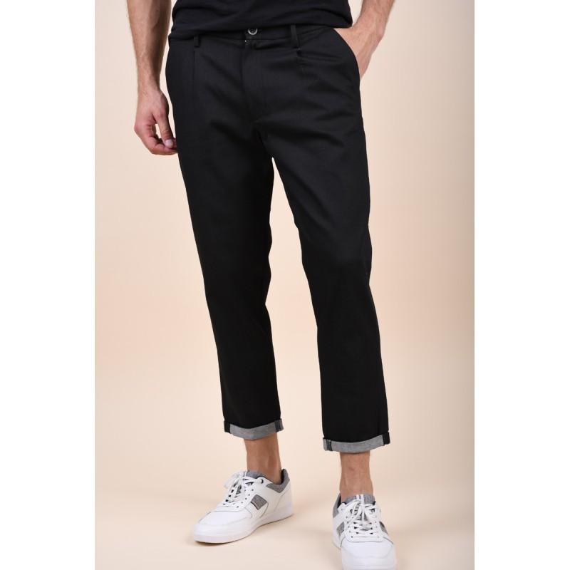 Pantaloni Jack&Jones Milton Jos370 Black Denim