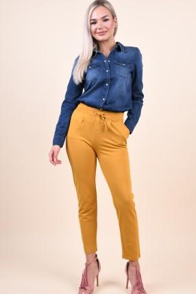 Pantaloni Jacqueline De Yong Pretty Harvest Gold