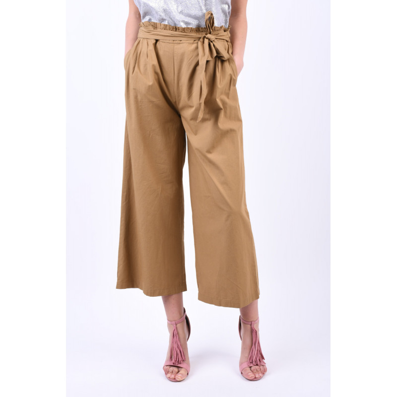 Pantaloni Evazati Object Farra 3/4 Maro
