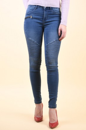 Blugi ONLY Royal Reg Sk Jea Pim504 Medium Blue Denim