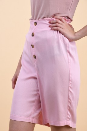 Pantaloni Scurti ONLY Tahoe Hw Wide Pink Mist