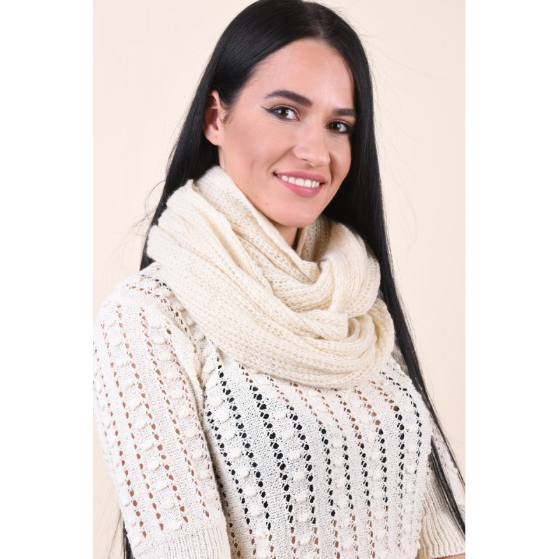 Fular Dama Pieces Micra Tube Scarf Whitecap Gray