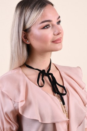 Colier PIECES Pcrima Choker Black
