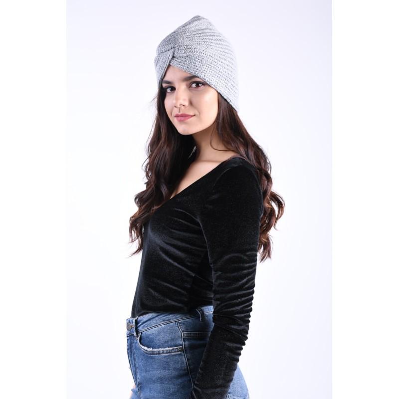 Turban Pieces Furbi Light Grey Melange