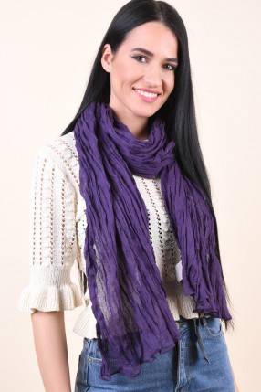 Esarfa PIECES Jaqeline Long Scarf Winter Purple