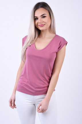 Tricou Modal PIECES Kamala Mov
