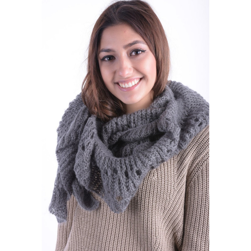 Fular PIECES Mathilde Scarf Granit