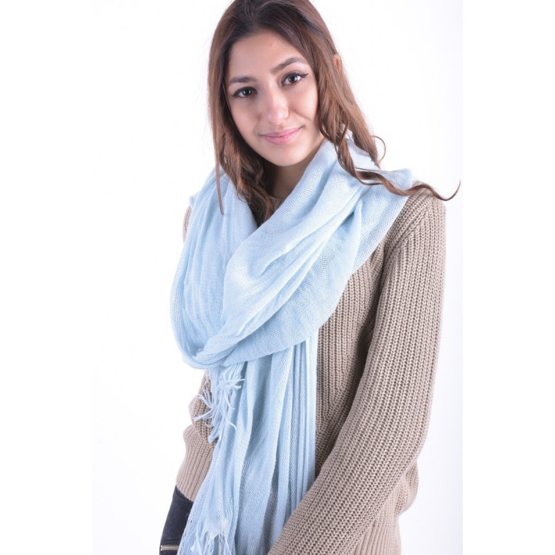 Fular PIECES Maat Scarf Cool Blue