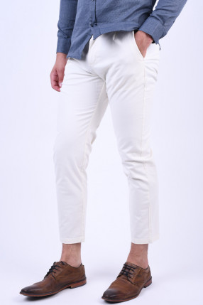 Pantaloni SELECTED Tapered-Free Egret