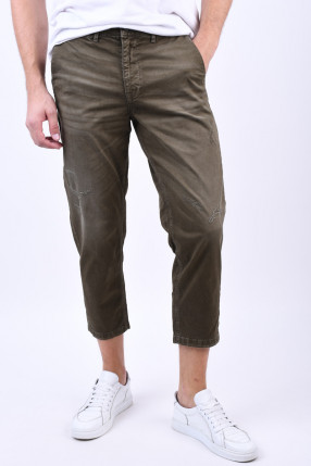 Pantaloni SELECTED Special-Nico Green Olive