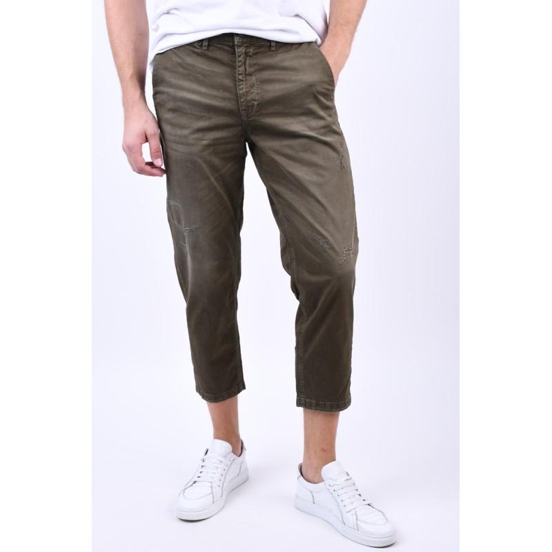 Pantaloni Selected Special-Nico Green Olive