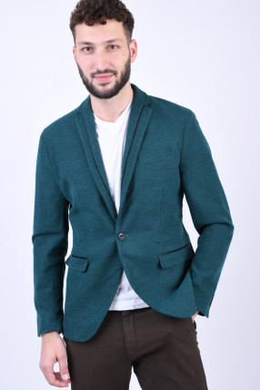 Sacou Slim SELECTED Cut Teal Green