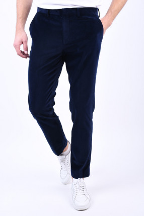Pantaloni Catifea SELECTED Slim-Mode Navy Blazer