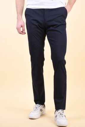 Pantaloni SELECTED Slim-Mylogan Navy Trouser Navy Blazer