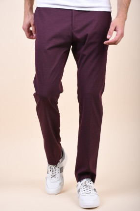 Pantaloni SELECTED Slim-Mylogan Fudge Fudge
