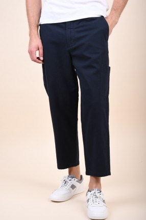 Pantaloni SELECTED Chase Crop Sky Captain