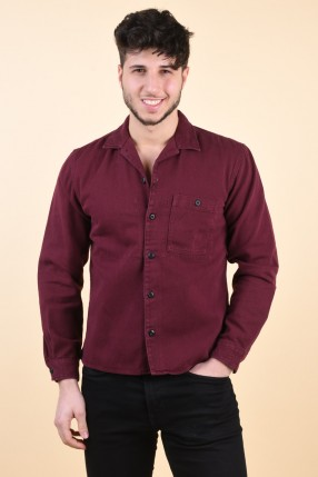 Camasa SELECTED Loose Jace Overshirt Forest Biome