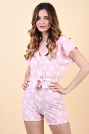 Salopeta Sister Point Girl-V.Play1 L.Pink/Cream