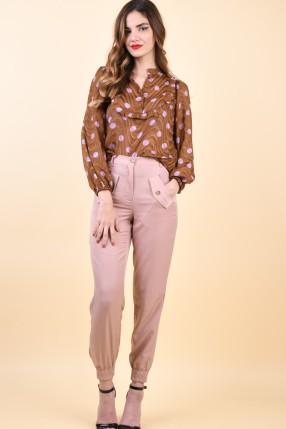 Pantaloni Sister Point Valia-Pa Rose