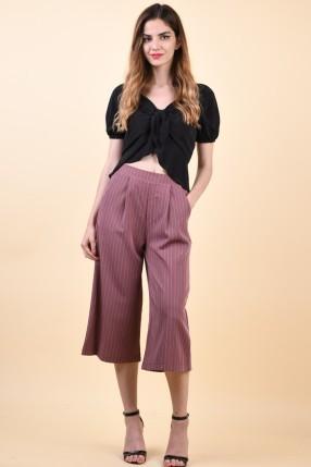 Pantaloni Sister Point Nui-Pa D.Rose/Cream