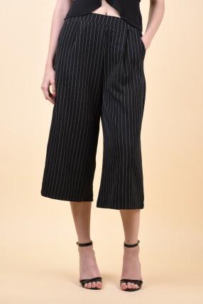 Pantaloni Sister Point Nui-Pa Black/Cream
