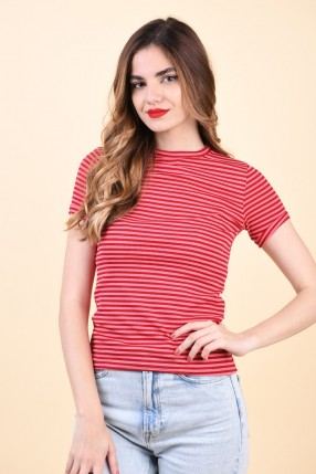 Tricou Sister Point Cello-R Coral/Red