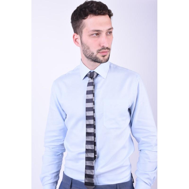 Cravata Tiger T1260-1368 T Gri Inchis / Gri Deschis