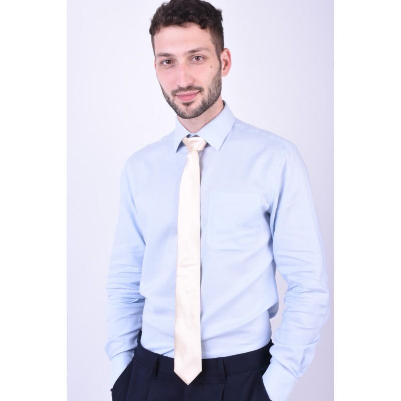 Cravata Tiger T1265-1165 Auriu Deschis