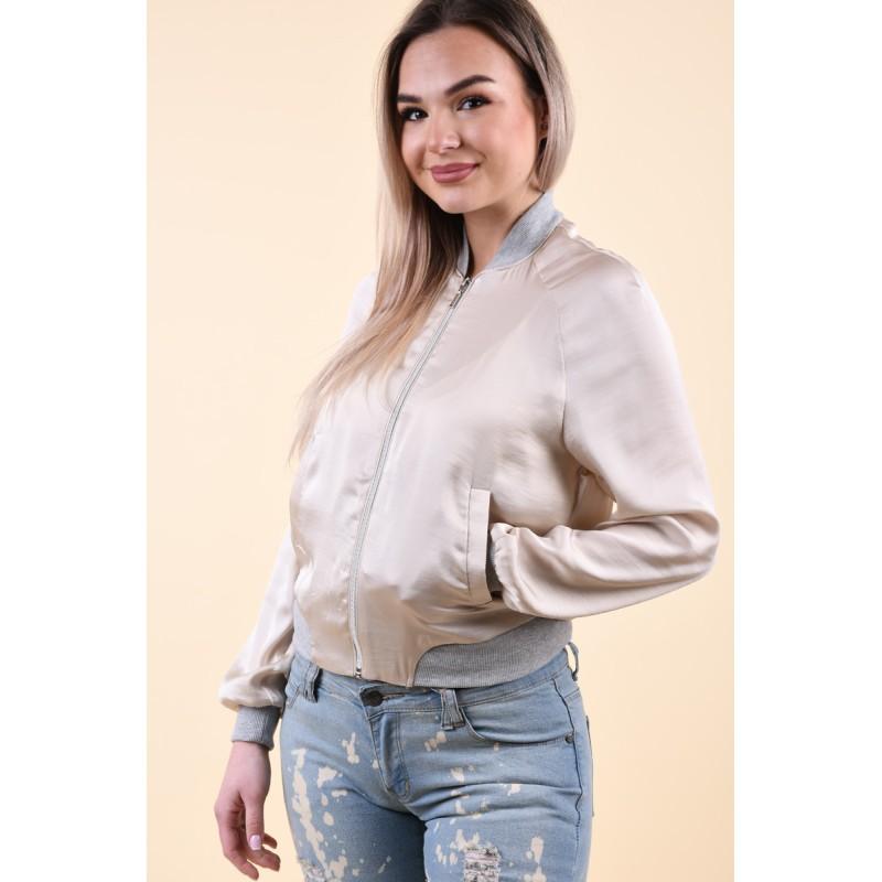 Jacheta Subtire Primavara Vero Moda Nicole Bej