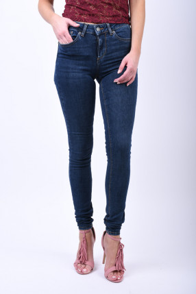 Blugi Super Slim VERO MODA Lux Ba033 Dark Blue Denim