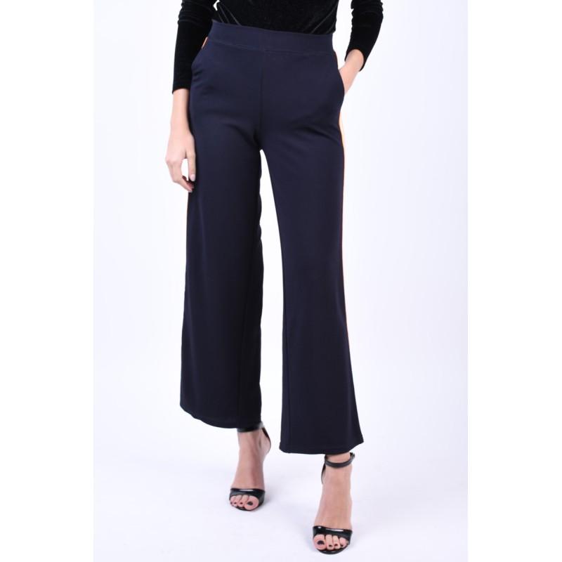Pantaloni Evazati Vero Moda Sira Coco Bleumarin