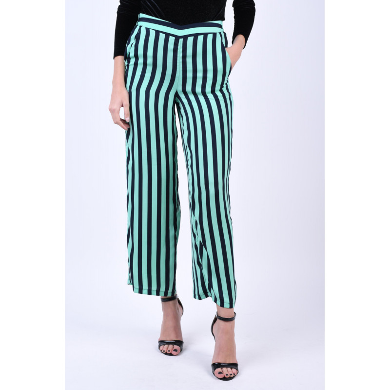 Pantaloni Drepti Vero Moda Stinna Wasabi