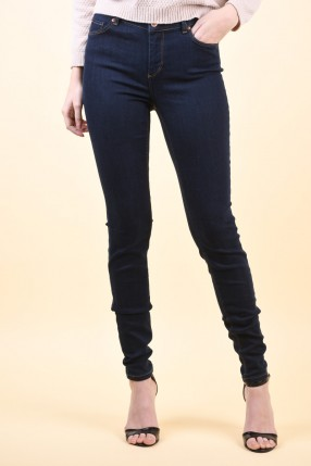 Blugi VERO MODA Super Fix Nw Skinny Dark Blue Denim