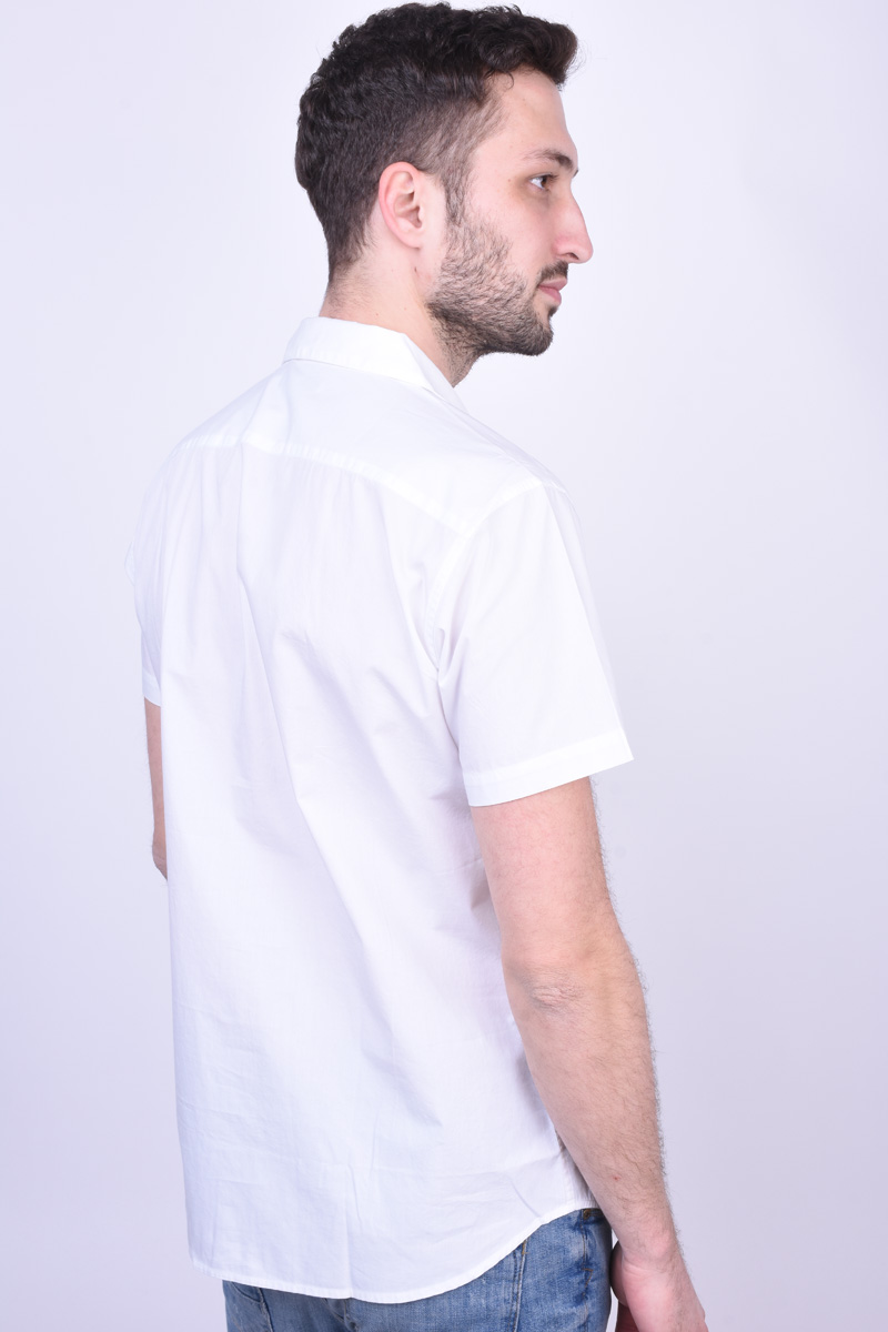 Camasa Maneca Scurta JACK&JONES rick Resort White