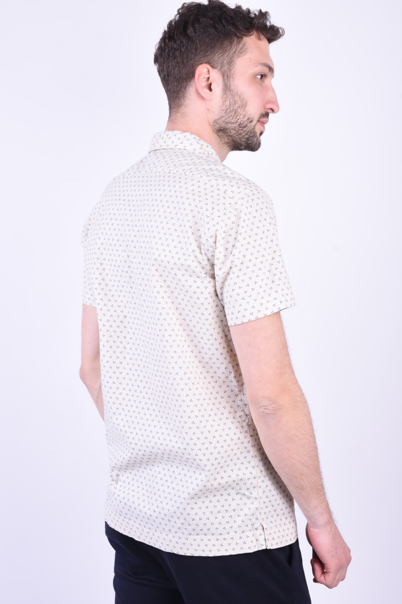 Camasa Maneca Scurta JACK&JONES Ash Resort Peyote