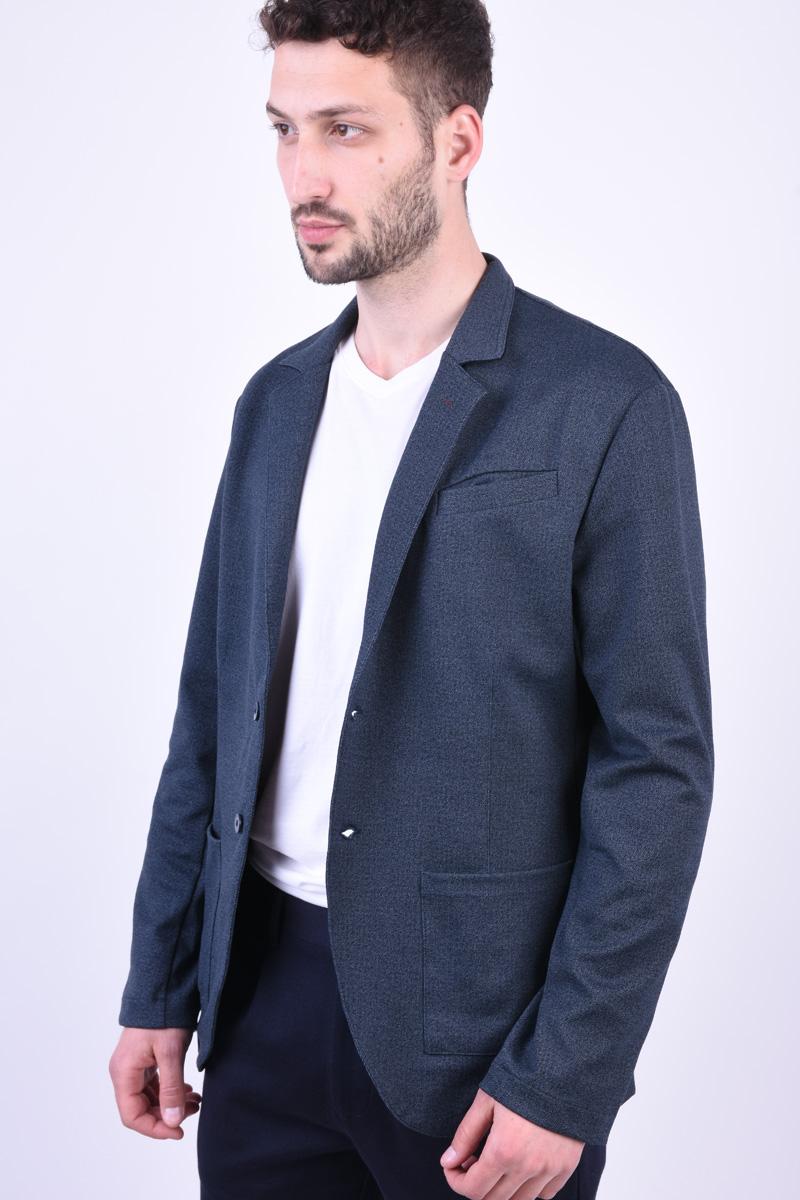 Sacou JACK&JONES Premium Maverick Navy Blazer