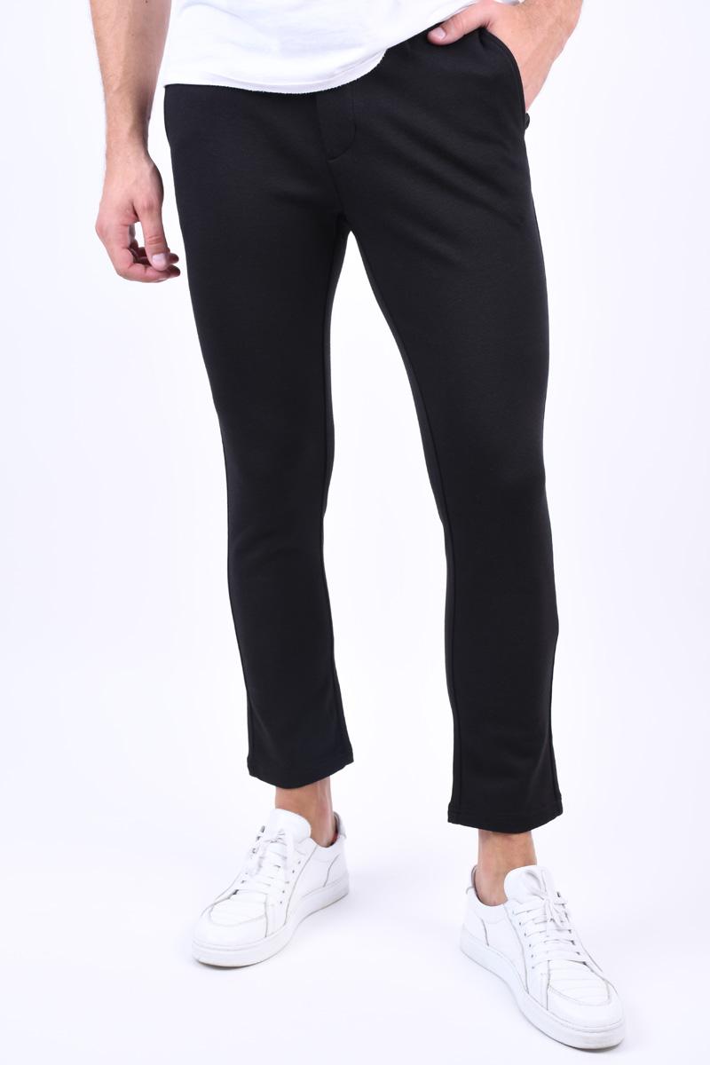 Pantaloni Modal JACK&JONES Marco Jjsandy Black