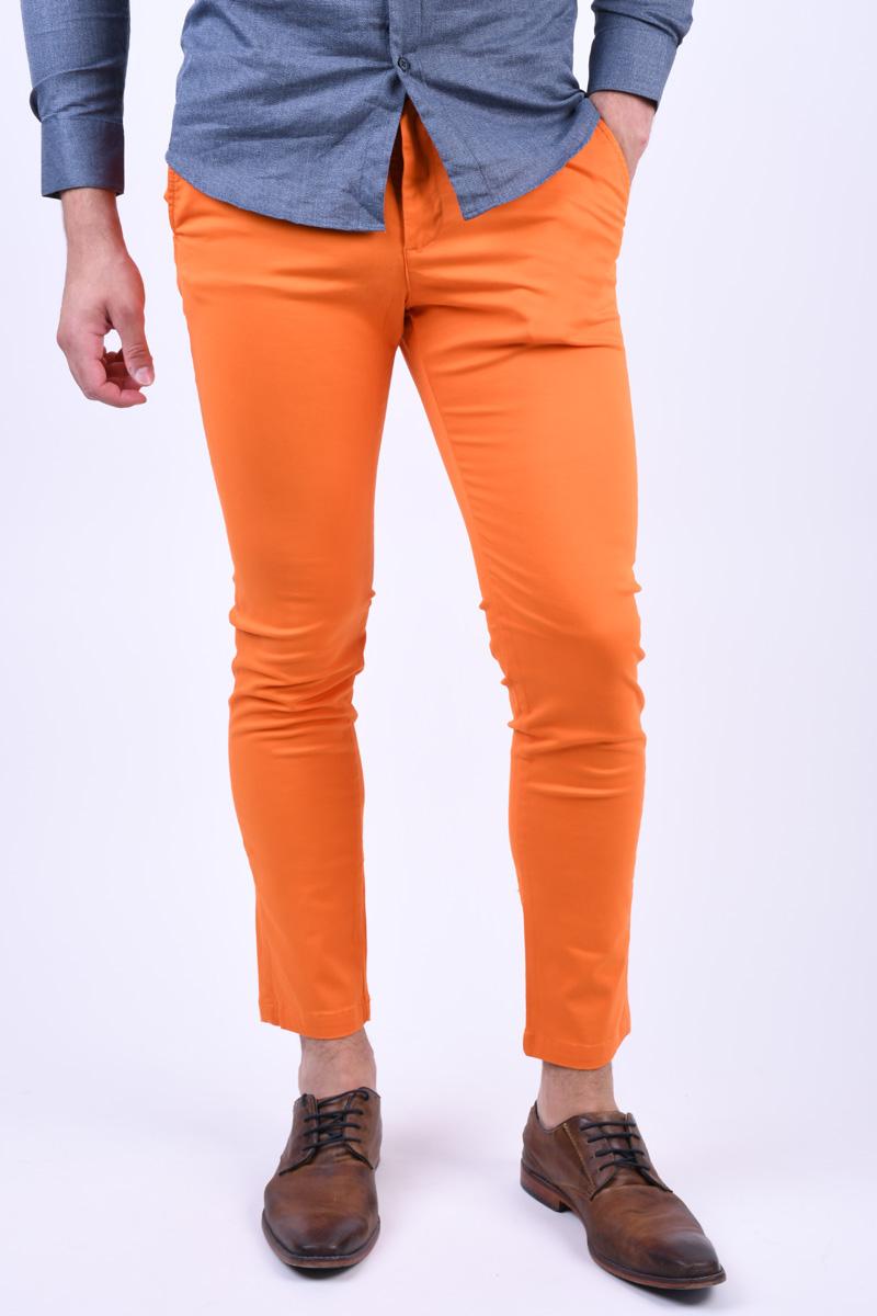 Pantaloni JACK&JONES Marco Jjbowie Celosia Orange