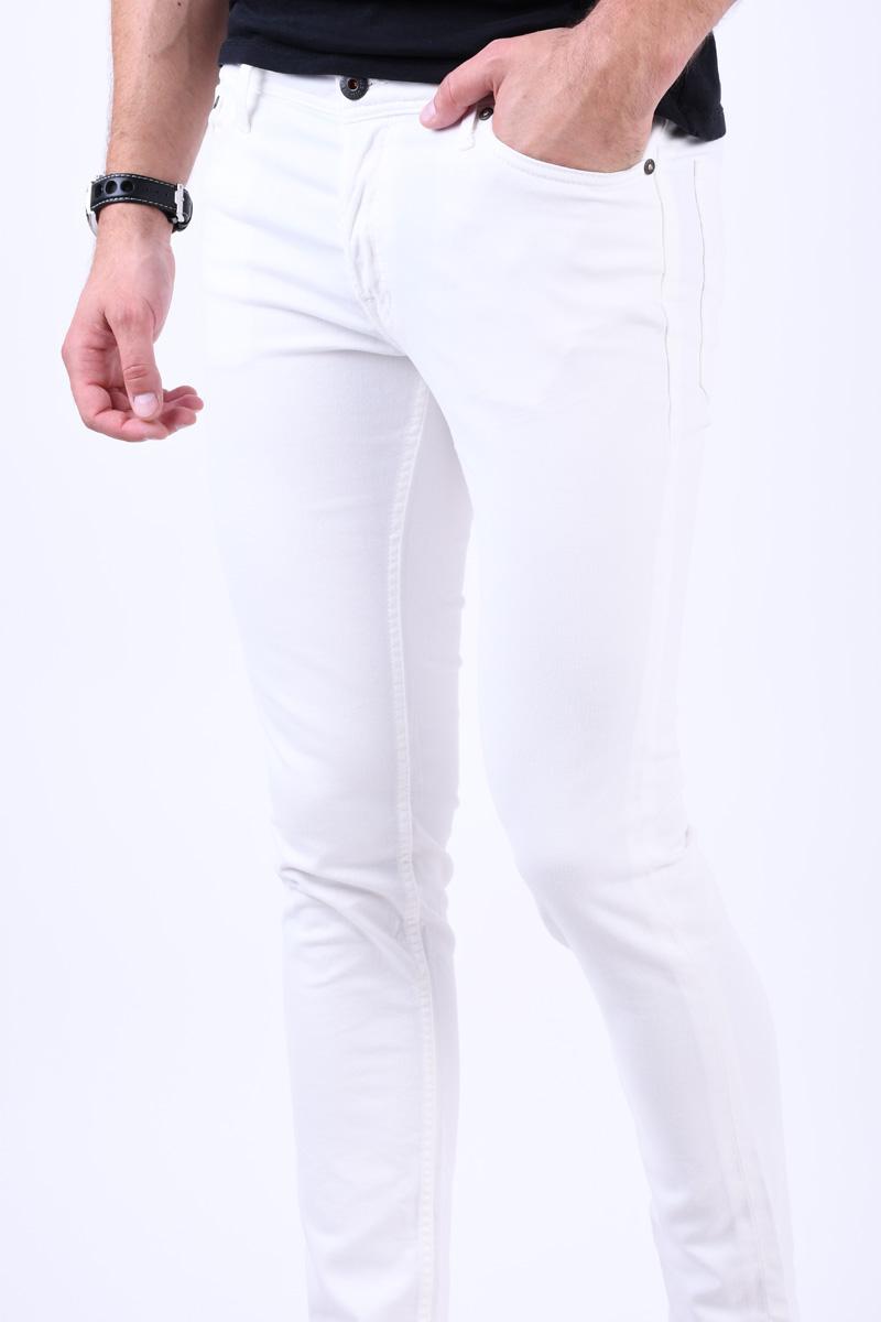 Pantaloni JACK&JONES Glen Jjoriginal Indi White