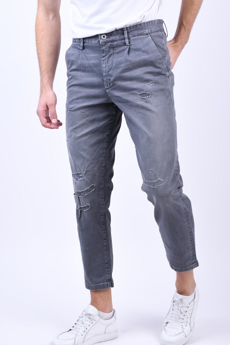 Pantaloni JACK&JONES Milton Jos 430 Grey Melange