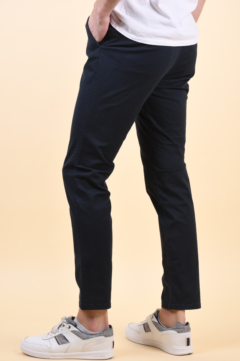 Pantaloni JACK&JONES Cody Spencer Navy Blazer