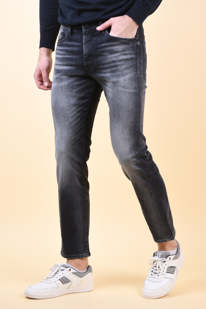 Blugi JACK&JONES Tim Icon Jj171 Black Denim