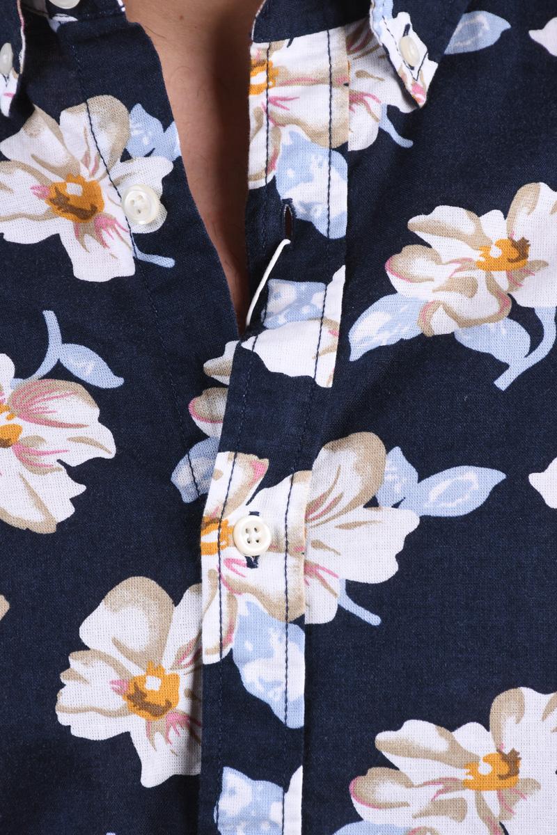Camasa JACK&JONES Summer Print Navy Blazer