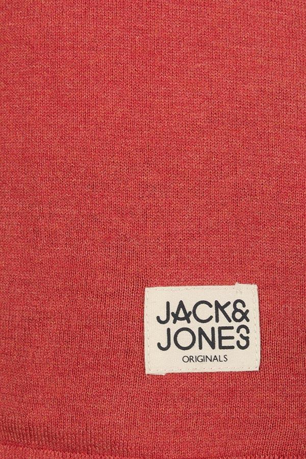 Pulover Barbati Jack&Jones Clean Crew Neck Brunt Ochre