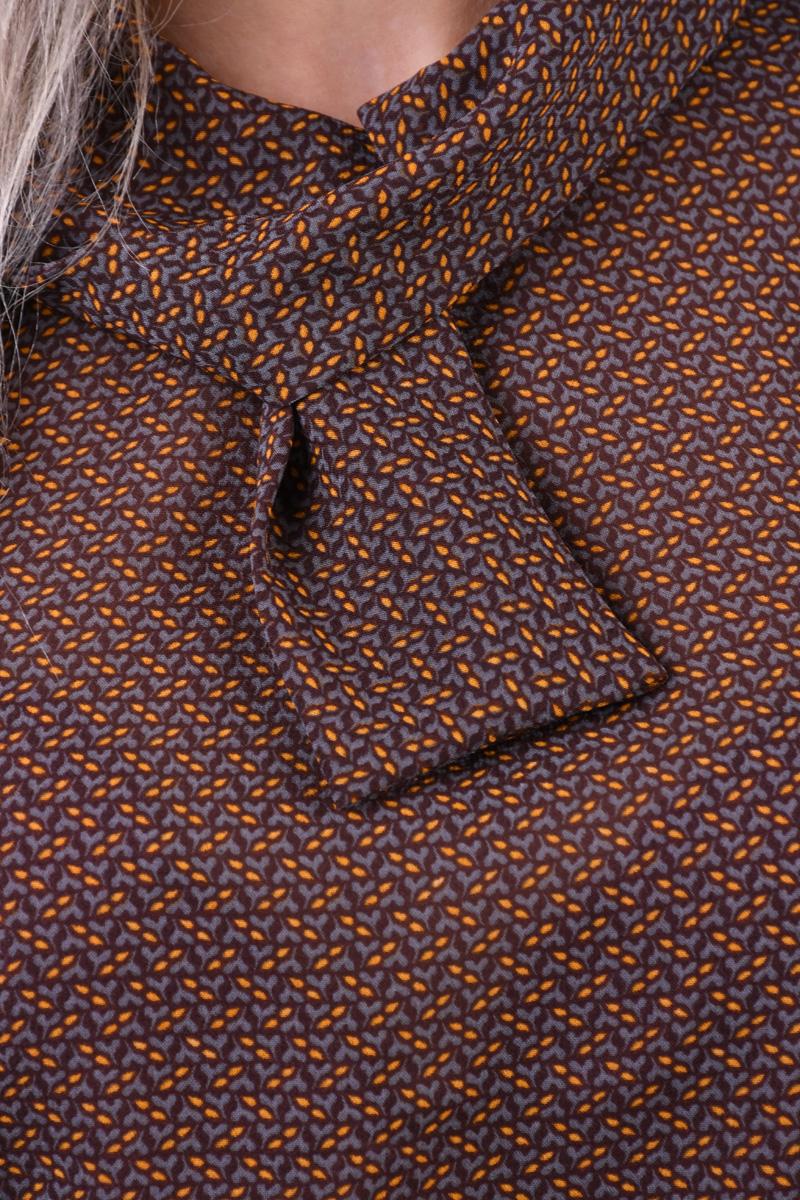 Bluza Picatele Jacqueline De Yong Serena 7/8 Rosu Negru