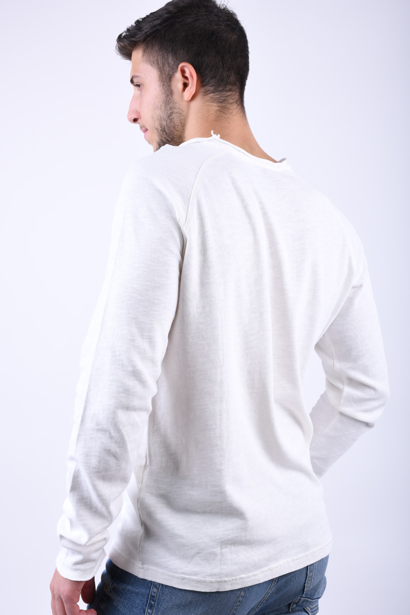 Pulover ONLY&Sons Meck Raglan O-Neck Cloud Dancer