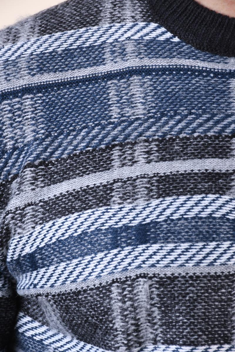 Pulover Gros ONLY&Sons Pancho Medium Grey Melange