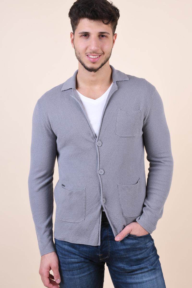 Cardigan ONLY&Sons Blazer Medium Grey Melange